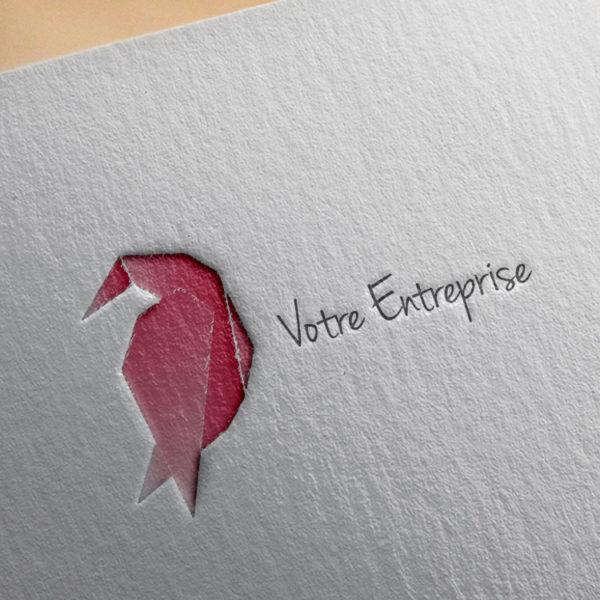 logo #10003 paper mockup