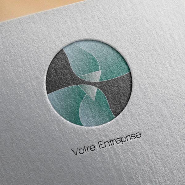 logo #10006 paper mockup