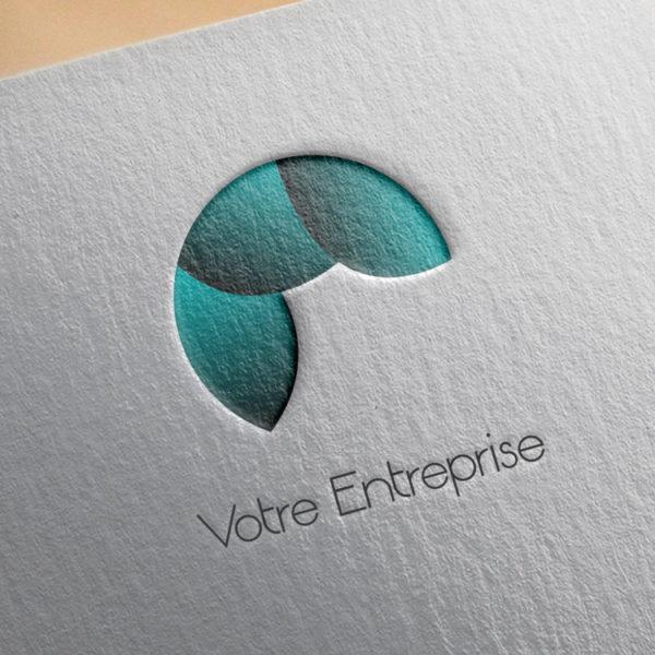 logo #10013 paper mockup