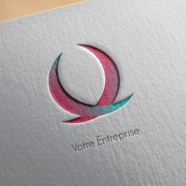 logo #10015 paper mockup