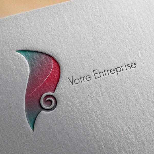 logo #10021 paper mockup