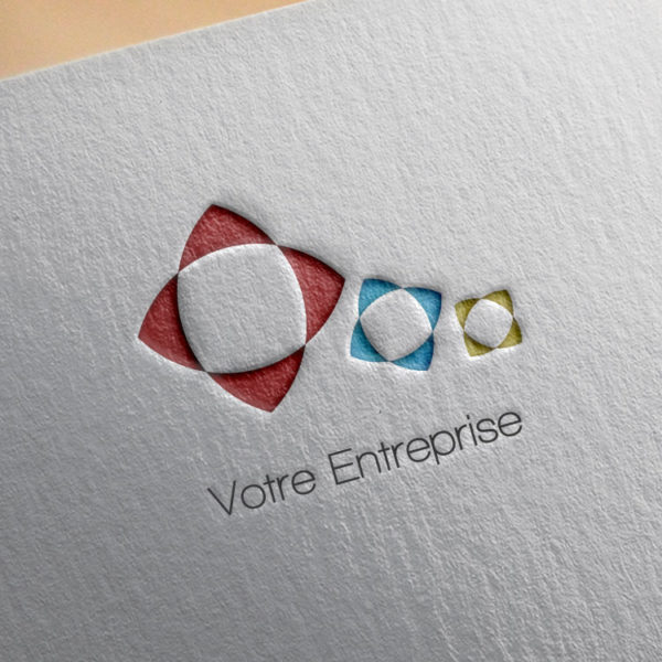 logo #10022 paper mockup