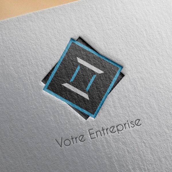 logo #10024 paper mockup