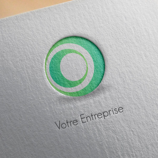 logo #10026 paper mockup
