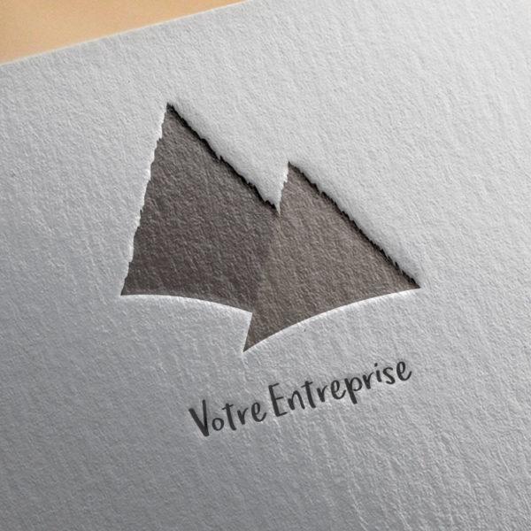 logo #10027 paper mockup
